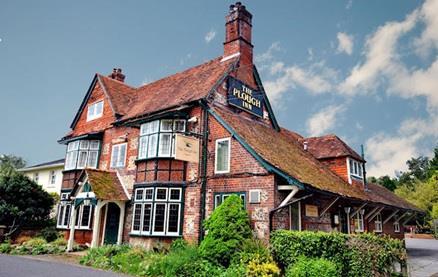 The Plough Inn (Longparish) -Exterior 1