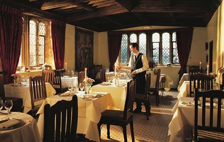 Tapestry Restaurant @ Bailiffscourt Hotel -Interior 1