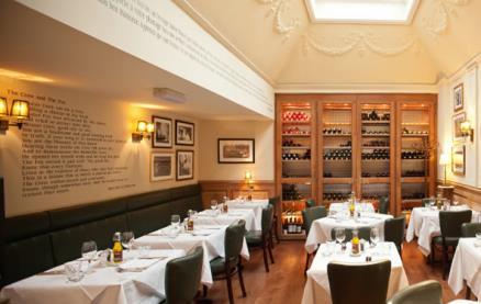 Brasserie Blanc (Charlotte Street) -Interior 1
