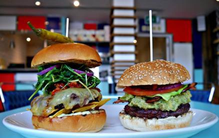 Gourmet Burger Kitchen (Angel) -Interior 1