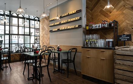 Gourmet Burger Kitchen (Soho) -Interior 1
