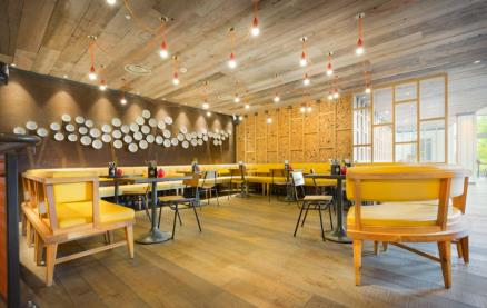 Gourmet Burger Kitchen (Norwich) -Interior 1