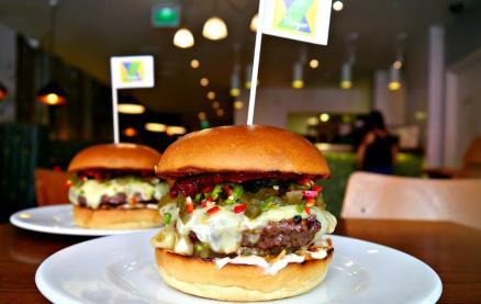 Gourmet Burger Kitchen (Brunswick) -Food 1