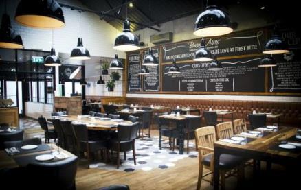 Buenos Aires Restaurant (Richmond) -Interior 1