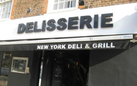 Delisserie (Mill Hill) -Menus
