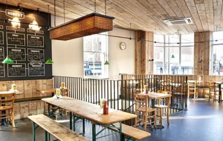 Honest Burgers (Brixton) -Interior 1