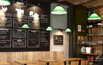 Honest Burgers (Camden) -Interior 1