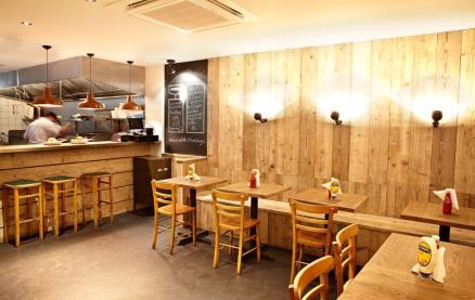 Honest Burgers (Portobello) -Interior 1