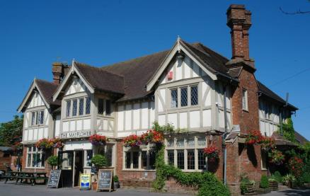 The Mayflower (Lymington) -Exterior