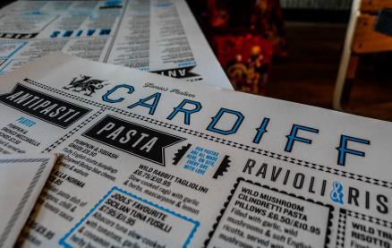 Jamie's Italian - Cardiff -Interior 1