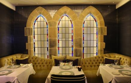Saphyre Restaurant  -Interior 1