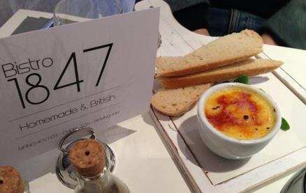 Bistro 1847 - Birmingham -Food 1
