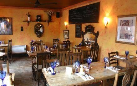 The Blue Bicycle Restaurant -Interior 1
