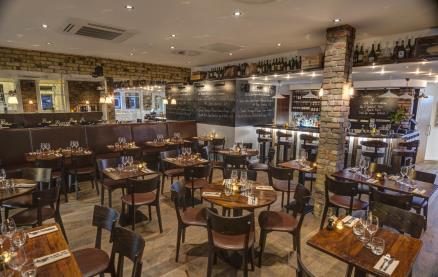Antico Restaurant (Bermondsey) -Interior 1