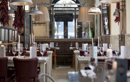 Bill's - Baker Street -Interior 1
