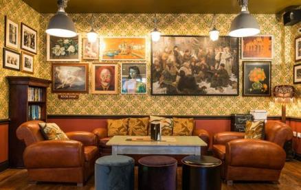 Otto Lounge -Interior 1