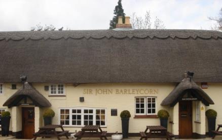 Sir John Barleycorn -Exterior