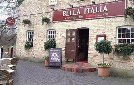 Bella Italia (Cambridge Watermill) -Interior 1