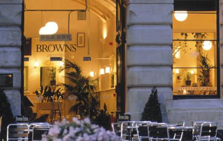 Browns (Bath) -Exterior