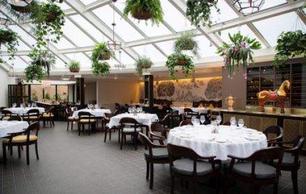 Bombay Brasserie -Interior 1