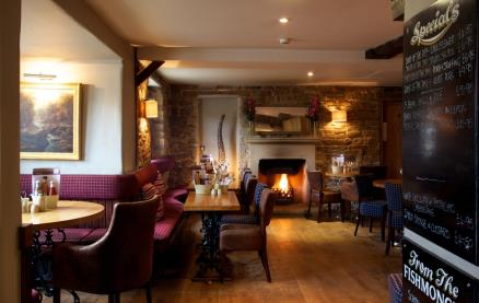 The Inn @ The Devonshire Arms at Beeley -Interior 1