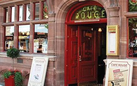Café Rouge (Bury St Edmunds) -Interior 1
