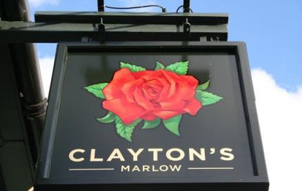 Clayton's -Exterior