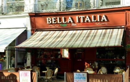 Bella Italia (Cheltenham Promenade) -Exterior