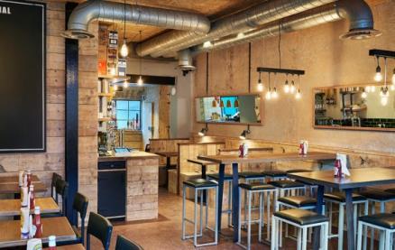 Honest Burgers (Clapham) -Interior 1