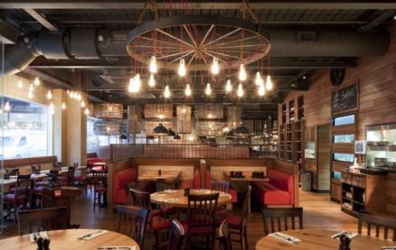 Burger & Lobster (Farringdon) -Interior 1