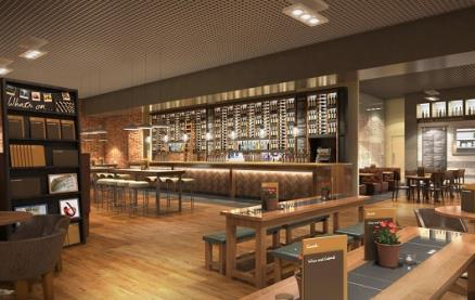 All Bar One (Birmingham Airport) -Interior 1