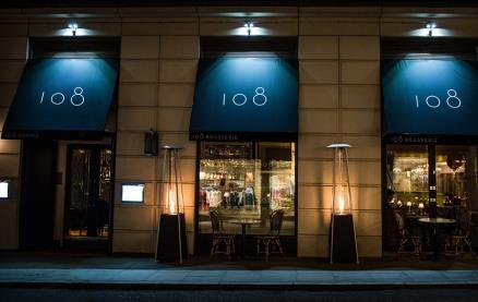 108 Brasserie -Exterior1