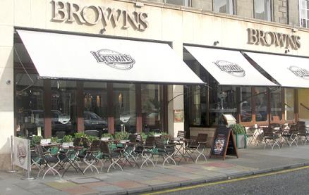 Browns (Edinburgh) -Exterior