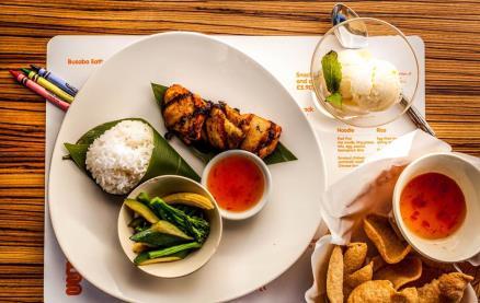 Busaba Eathai (Leicester Square) -Food 1