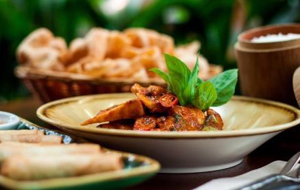 Busaba Eathai (Westfield Stratford City) -Food 1