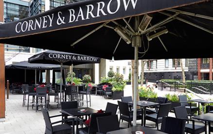 Corney & Barrow (Fleet Place) -Interior 1