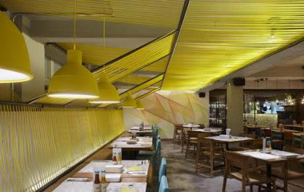 Wahaca - Waterloo -Interior 1