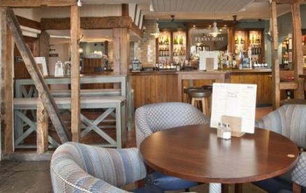 Ferry Boat (London) -Interior 1