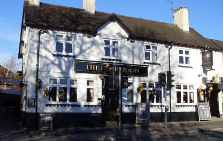 Half Moon Inn (Derby) -Exterior1