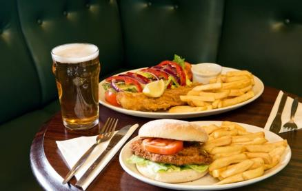 Ye Olde Red Lion (Sutton) -Food 1
