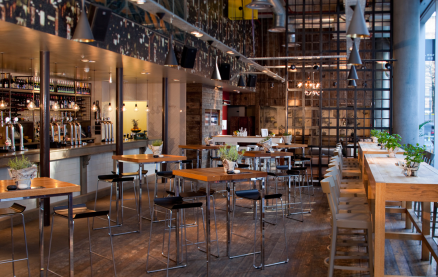 The Refinery - Bankside -Interior 1