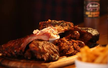 Bodean's BBQ - Covent Garden -Food 1