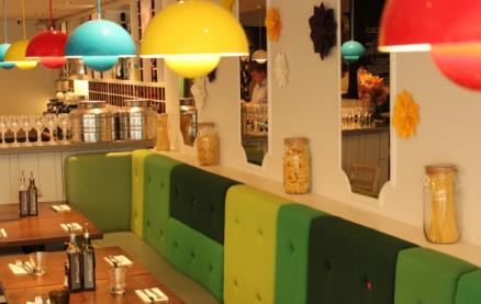 Zizzi (Leamington Spa) -Interior 1