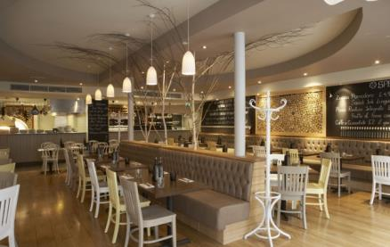 Zizzi (Earls Court) -Interior 1