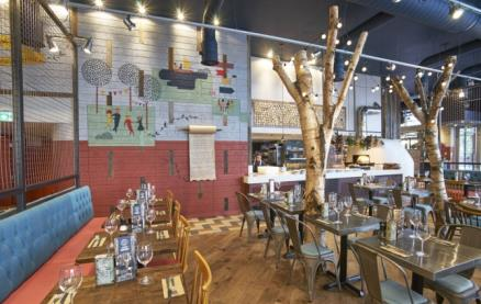 Zizzi (Westfield White City) -Interior 1