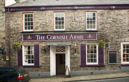 The Cornish Arms (Tavistock) -Exterior1