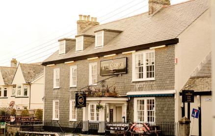 George Inn (Plymouth) -Exterior1