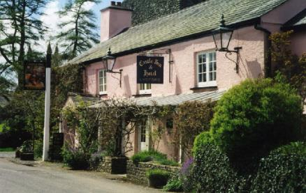 The Castle Inn (Lydford) -Exterior1