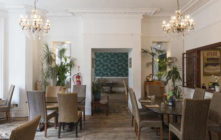 The Blue Piano Restaurant & Bar -Interior 1