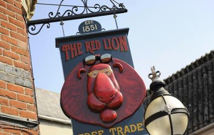 The Red Lion (Weymouth) -Exterior1